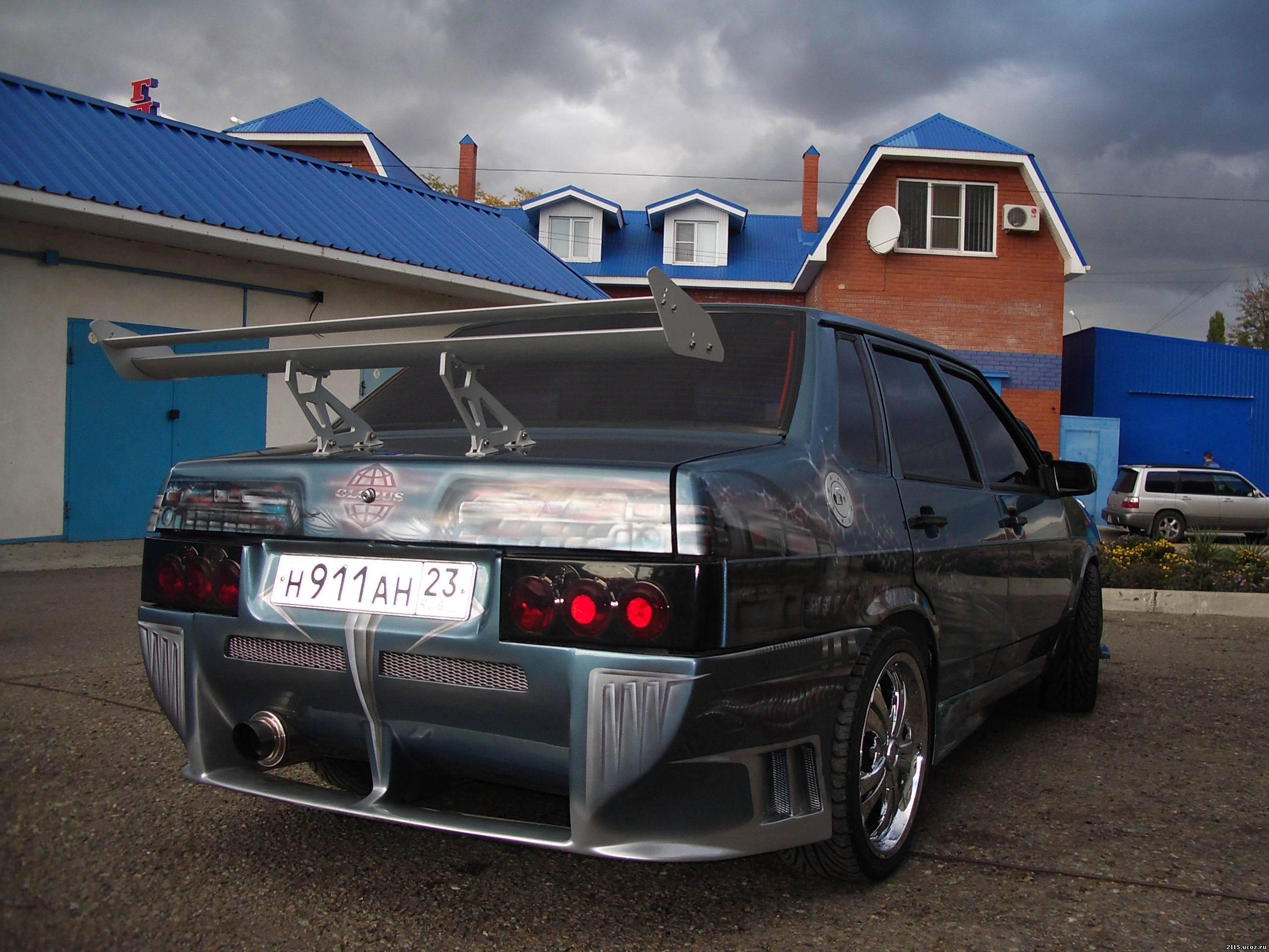 тюнинг автомобилей русских фото